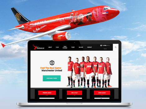Manchester United, the red devil, football tour, tiket bola, mister bola, mr bola, european, indonesia, digital campaign, blackstone digital agency
